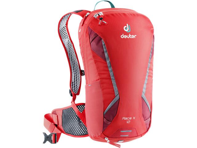 Deuter Race X Backpack 12l chili/cranberry